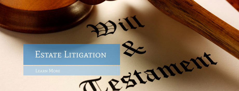 Estate Litigation and Surrogate's Court Practice